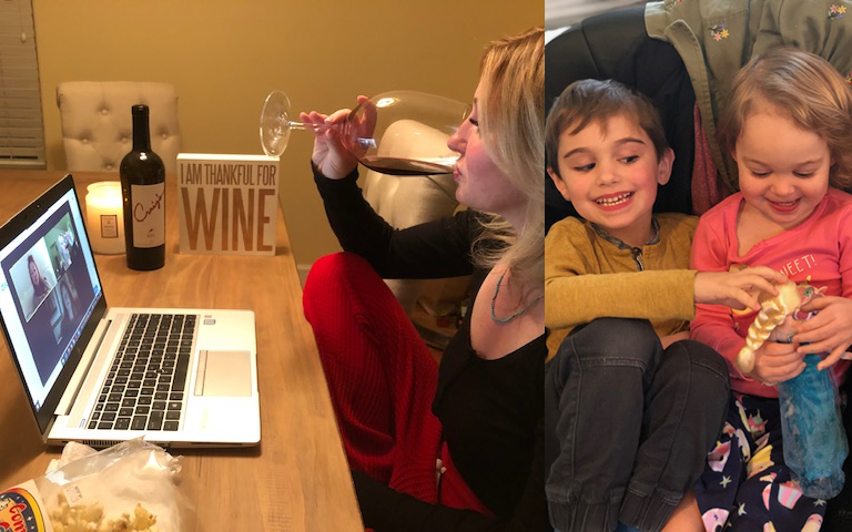 """""""Home schooling is going well - two students suspended for fighting and one teacher fired for drinking on the job"""" - Dominique, Santa Rosa, CA"""