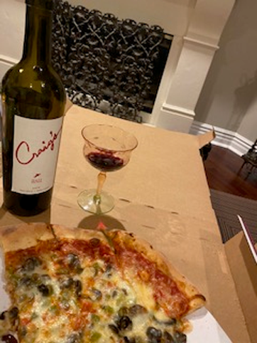 """Ordering in is the way to go these days, especially when you have access to Chicago pizza!  We'll therefore take it as a huge compliment when Janet in Chicago says """"Pizza was good, Craig's was better""""!"""