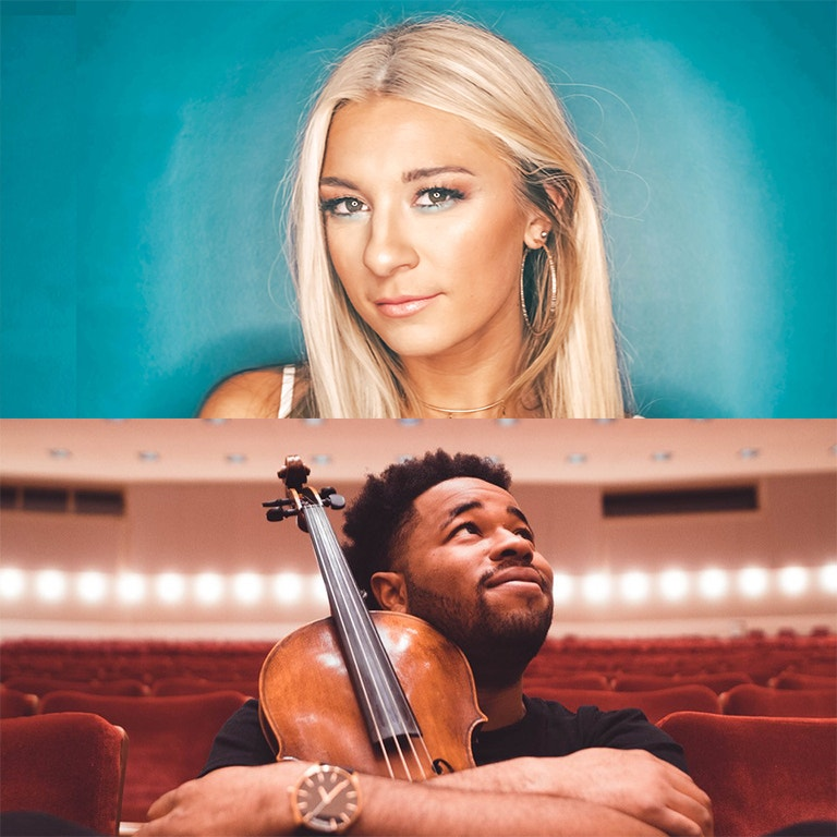 Country Singer & Former American Idol Contestant, Julie Cole and Violinist, That Viola Kid