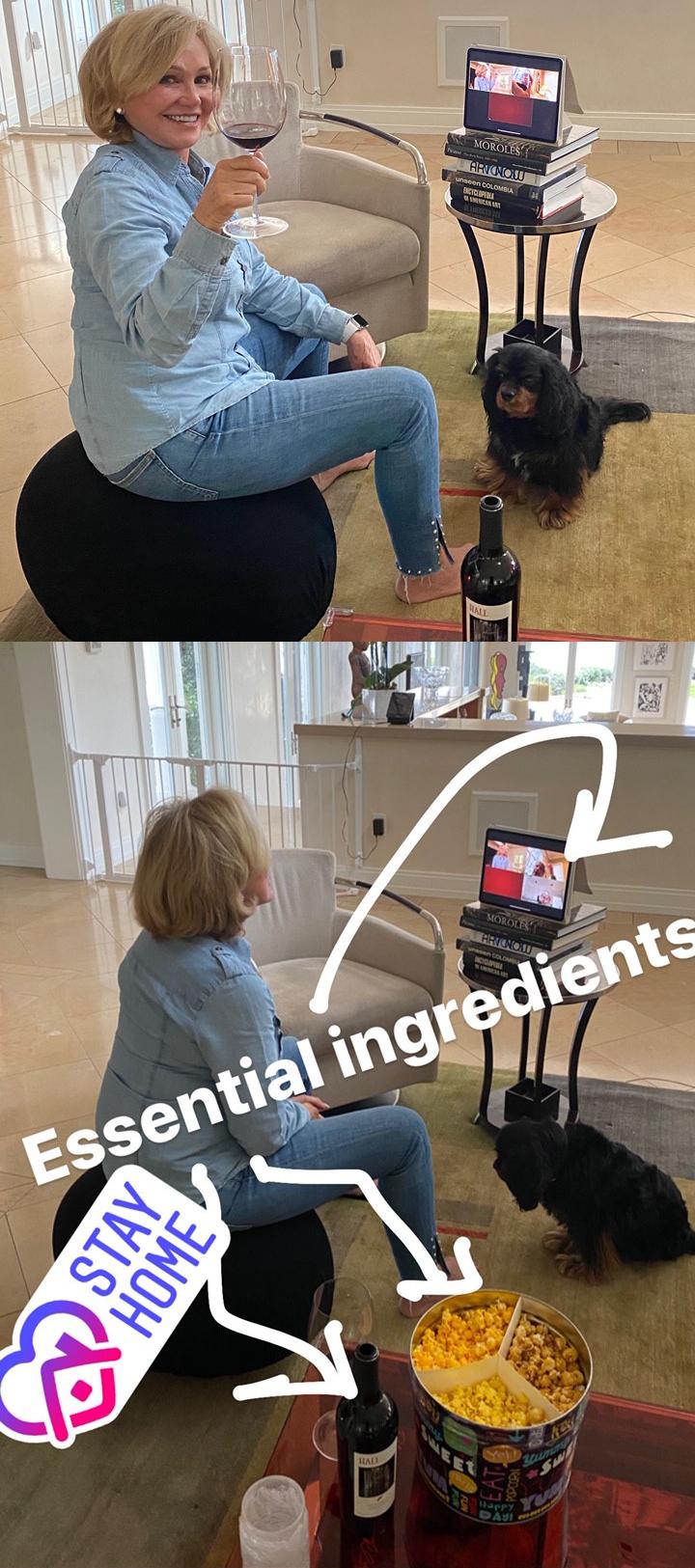Kathryn's Stay Home Essential Ingredients