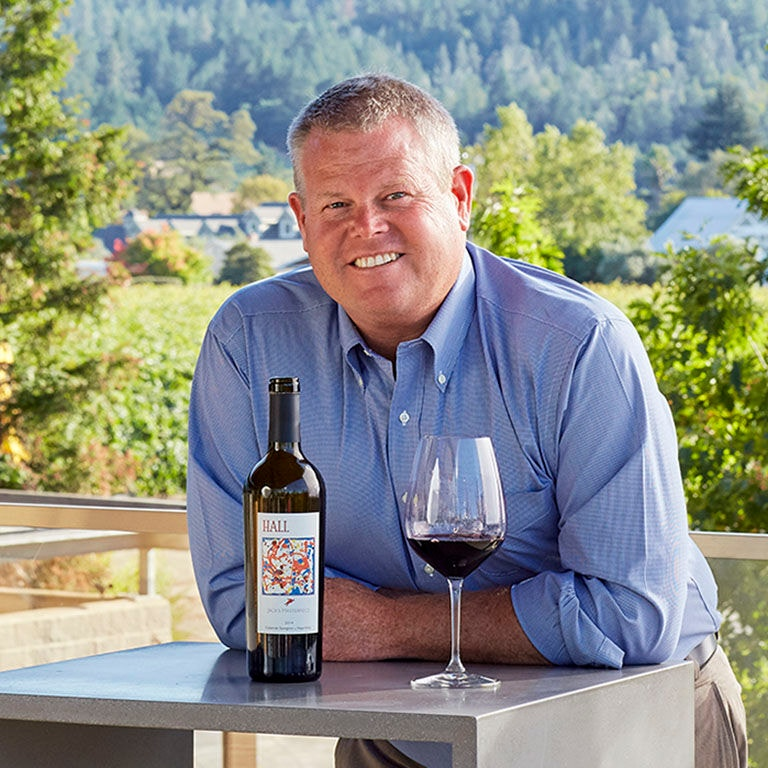 Image of HALL Wines President, Mike Reynolds