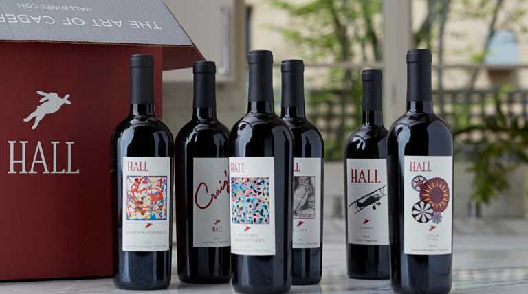 HALL Napa Valley Bespoke Tasting