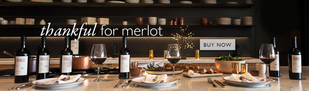 Thankful for Merlot | HALL Napa Valley
