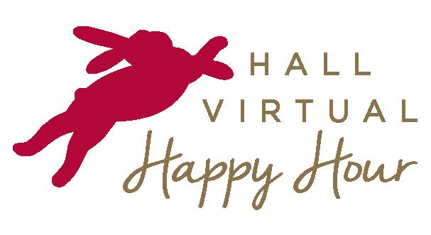 HALL Virtual Happy Hour Logo