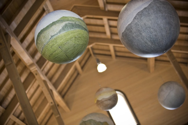 Russell Crotty Spheres - Peterson's Loft