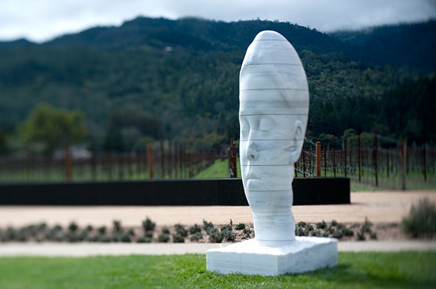 HALL Wines Art - Jaume Plensa