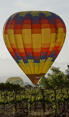 Balloon Above the Valley