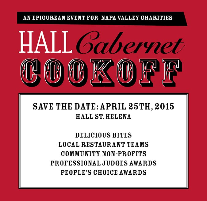 HALL Cabernet Cookoff May 18, 2014