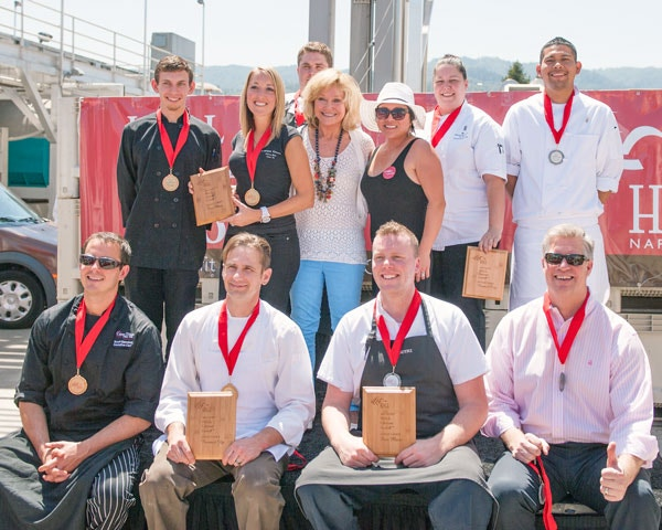 2013 HALL Cabernet Cookoff Winners