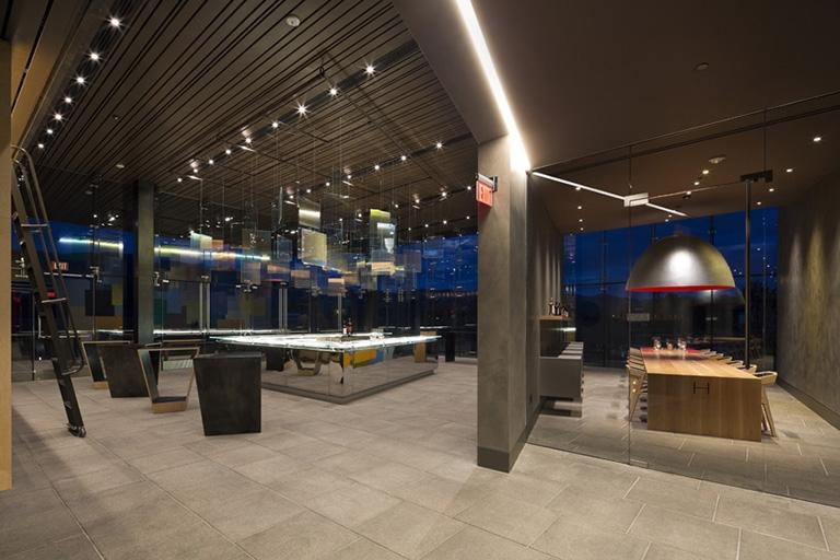 Mayacamas Salon Event Space + view of Tasting Room