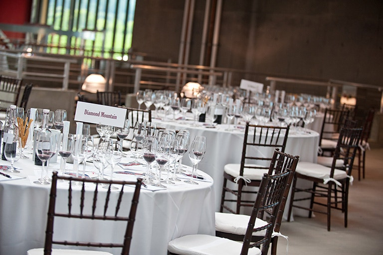 Mezzanine Event Space with Tables