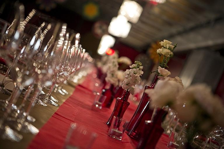 Mezzanine Event setup Kings Table