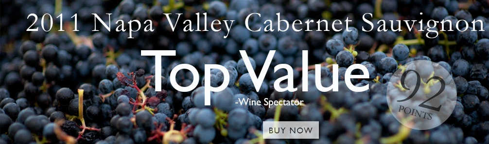 HALL 2011 Napa Valley Cab gets 92 Pts from James Laube, Wine Spectator