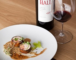 Wine and Food Pairing at HALL