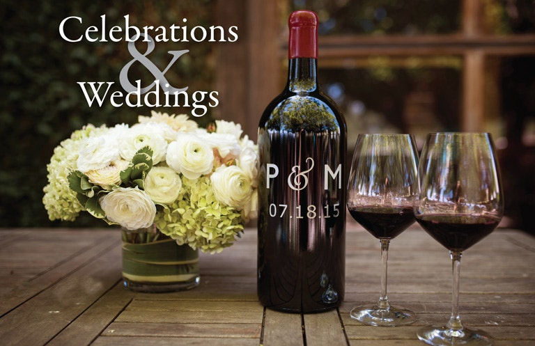 Weddings & Celebrations Header Image